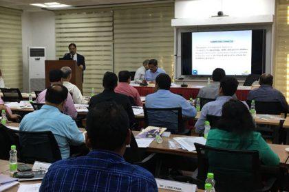 Dr. Ibrahim Addressing PCCM Meeting